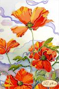 Рисунок на ткани для вышивки бисером Батик