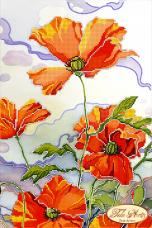 Рисунок на ткани для вышивки бисером Батик Tela Artis (Тэла Артис) ТА-021