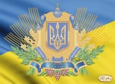 Рисунок на ткани для вышивки бисером Украинская символика Tela Artis (Тэла Артис) Та-058