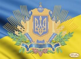 Рисунок на ткани для вышивки бисером Украинская символика, , 95.00грн., Та-058, Tela Artis (Тэла Артис), Украина