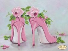 Рисунок на ткани для вышивки бисером Женственность Tela Artis (Тэла Артис) ТА-080