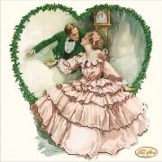 Рисунок на ткани для вышивки бисером Полночное свидание