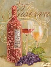 Рисунок на ткани для вышивки бисером Хмельное вино Tela Artis (Тэла Артис) ТА-153