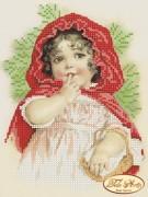 Рисунок на ткани для вышивки бисером Красная шапочка