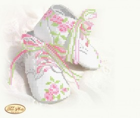 Рисунок на ткани для вышивки бисером Детская метрика Принцесса, , 55.00грн., ТМ-050, Tela Artis (Тэла Артис), Метрики