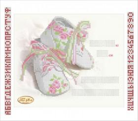 Рисунок на ткани для вышивки бисером Детская метрика Принцесса, , 55.00грн., ТМ-050-1, Tela Artis (Тэла Артис), Метрики