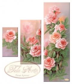 Рисунок на ткани для вышивки бисером Розовый сад Tela Artis (Тэла Артис) СК-005 - 355.00грн.