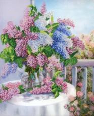 Рисунок на ткани для вышивки бисером Майская веранда Марiчка (Маричка) РКП-275