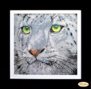 Набор для вышивки бисером Взгляд тигра