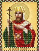 Рисунок на ткани для вышивки бисером Св. Равноапостольный Константин
