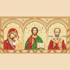 Рисунок на ткани для вышивки бисером Домашний иконостас Марiчка (Маричка) РИК-5701