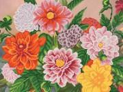 Рисунок на ткани для вышивки бисером Осенний бал