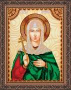 Набор для вышивки бисером Святая Антонина