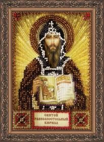 Набор для вышивки бисером Святой Кирилл Абрис Арт ААМ-033 - 121.00грн.