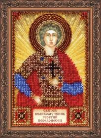 Набор для вышивки бисером Святой Георгий Абрис Арт ААМ-053 - 121.00грн.