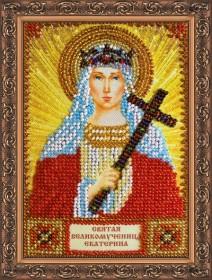 Набор для вышивки бисером Святая Екатерина Абрис Арт ААМ-023 - 121.00грн.